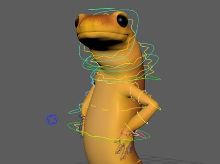 Rigging and animation - Virginie Pellet