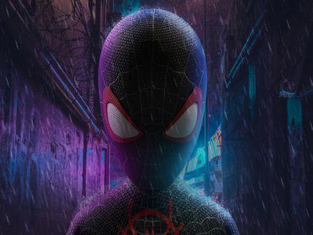 Spider-Man: Into the Spider-Verse=Miles Morales concept