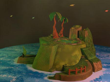 Stylized Island