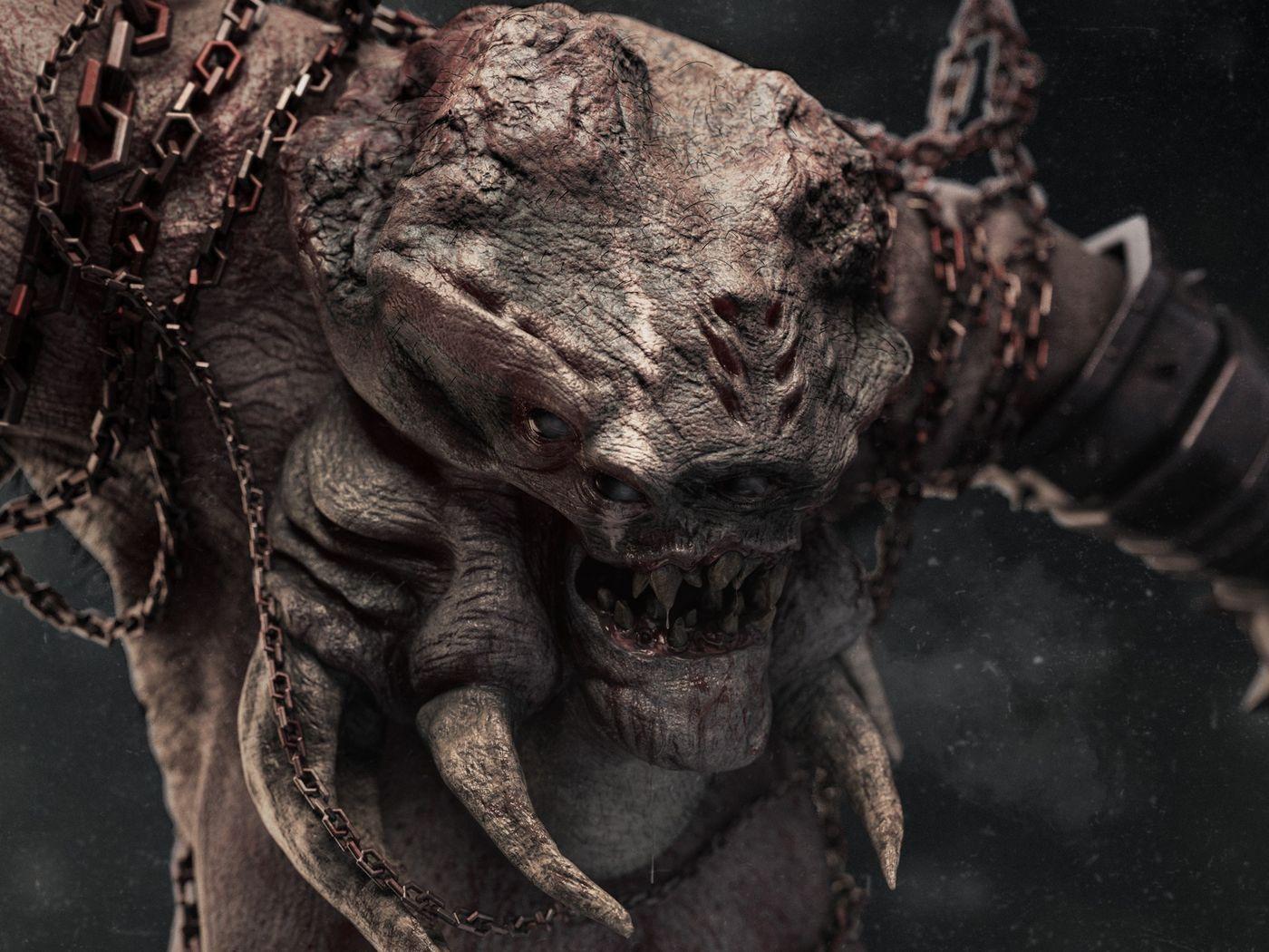 Araknarr // The Dark Ogre