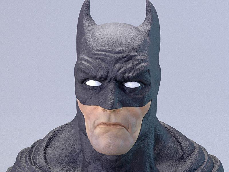 Batman Bust Fanart