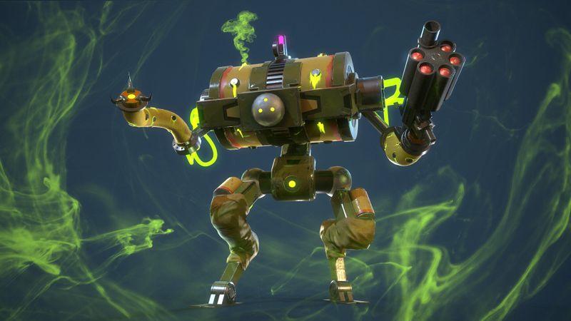 Gas Robot