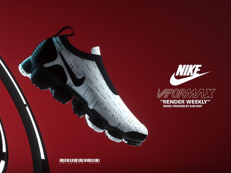 """Nike VaporMax / """"Render Weekly"""""""
