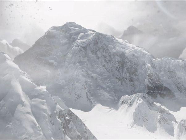Mountain Snow Scene