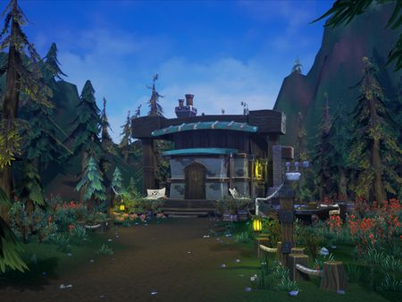 World of Warcraft Inspired Environment