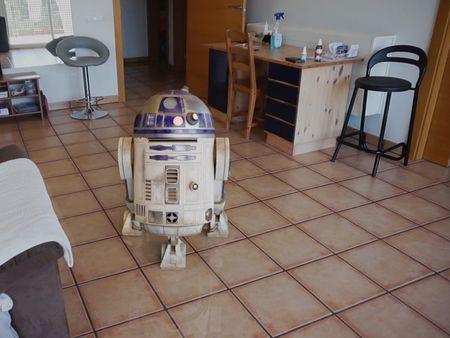 R2-D2 camera tracking VFX