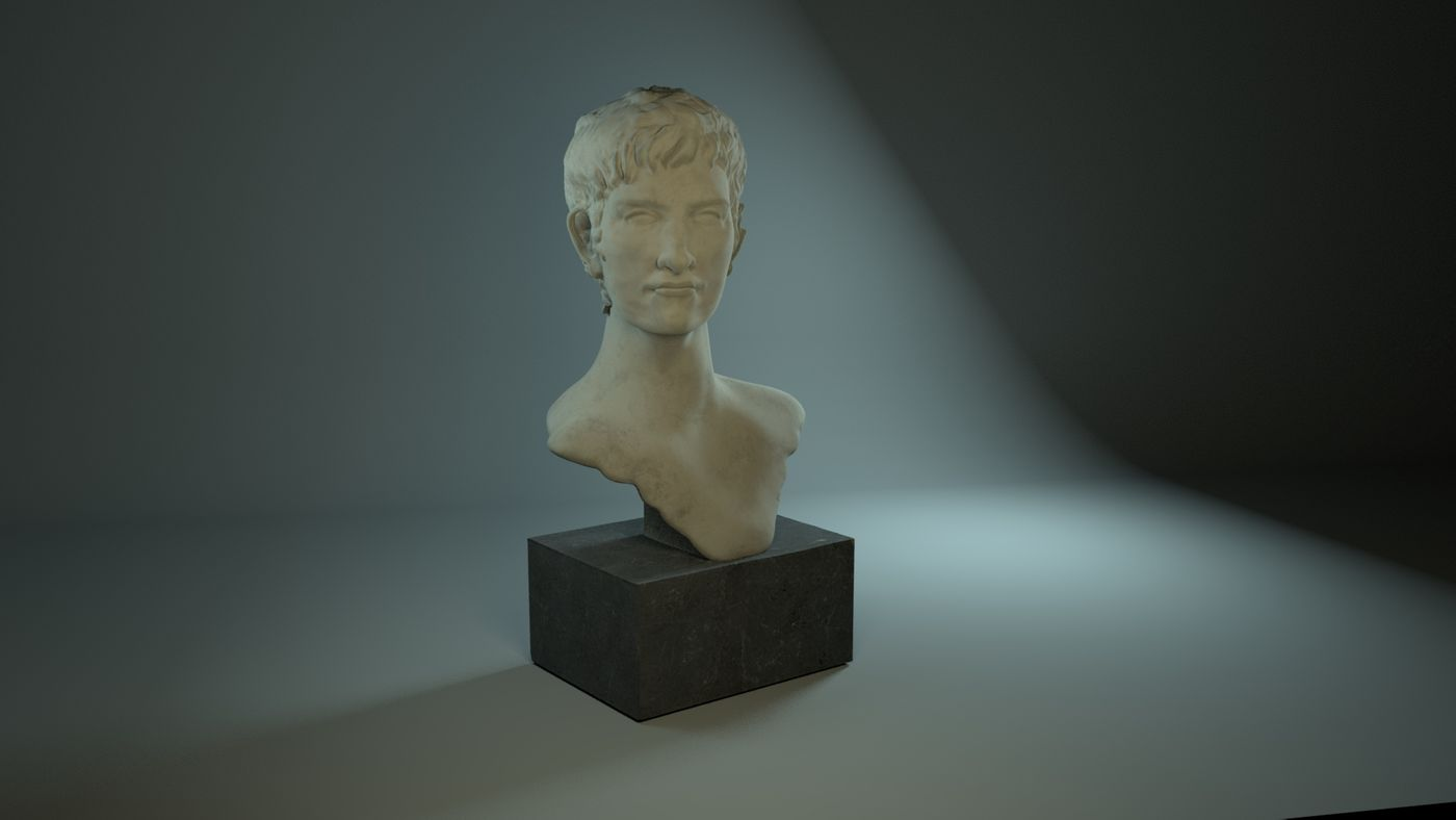 Antique  Bust 3D sculpture