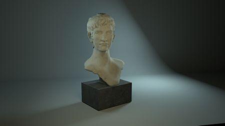 Antique  Bust 3D sculpture