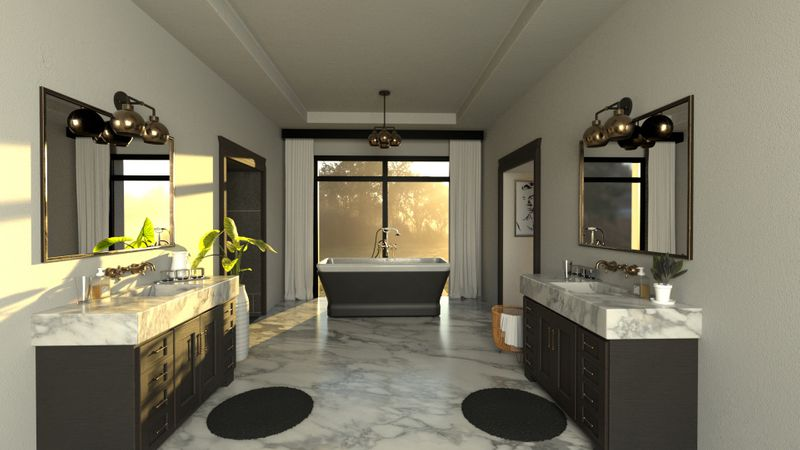 CGI Render -Master bathroom