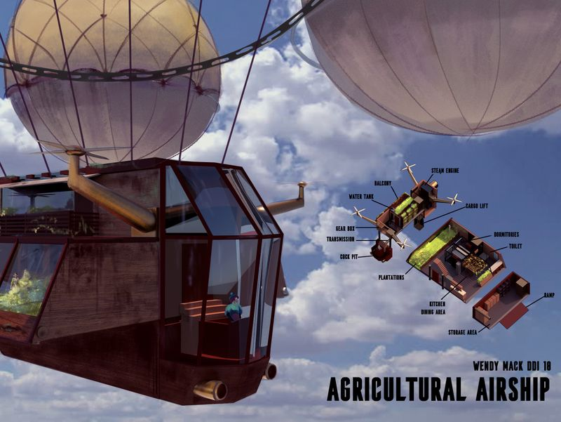 Agricultural Airship
