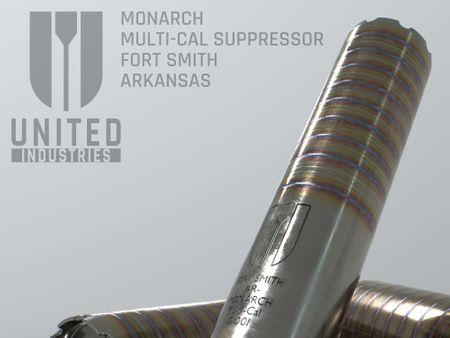 Monarch Suppressor (Raw Finish)