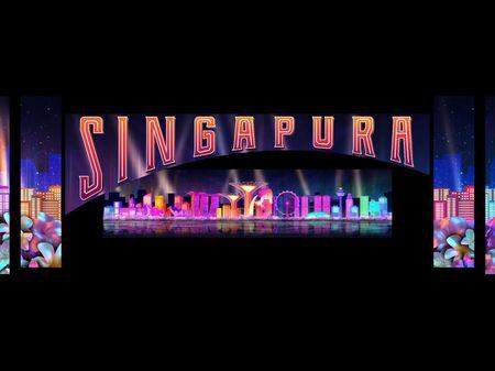 Nanyang Polytechnic Motion graphics broadcast design Singapore National Day Parade 2020
