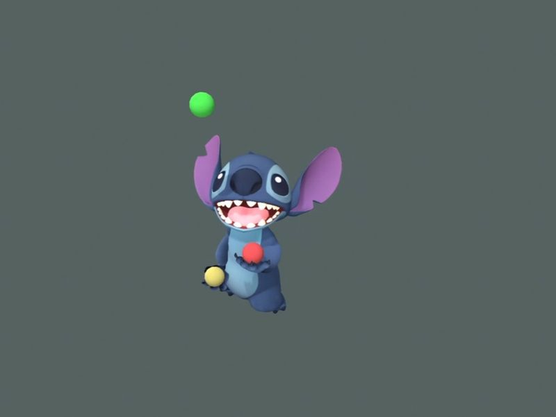 Stitch Juggling