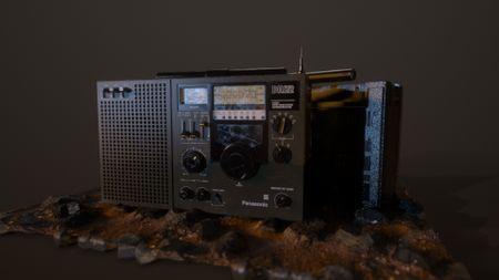 DR22 Panasonic Radio