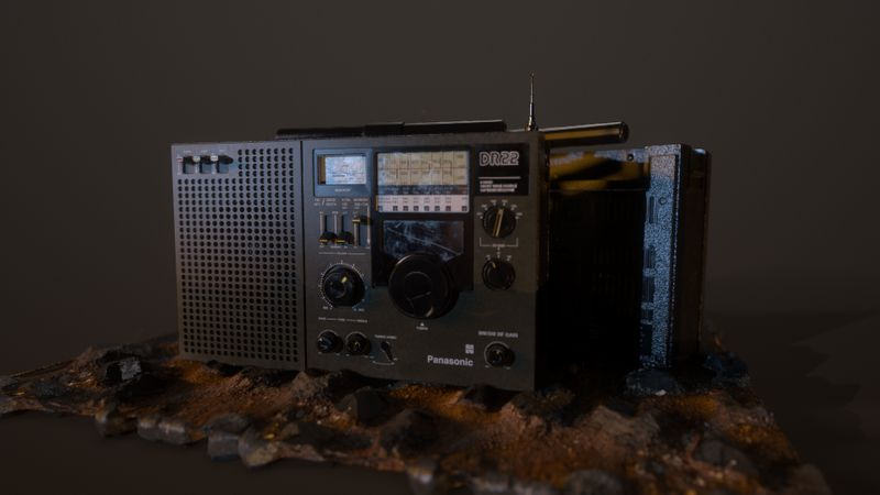 DR22 Panasonic Radio