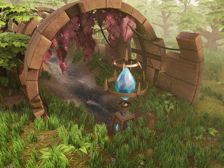Stylized Fantasy Environnement UE4 - (3dEx tutorial)