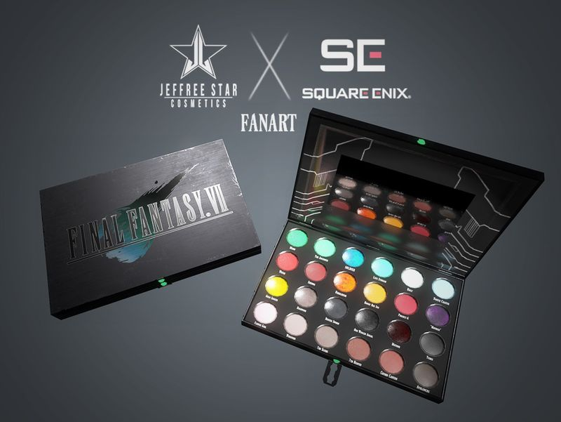 Final Fantasy VII Eyeshadow Palette