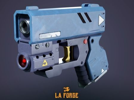 Gun - Cyberpunk Challenge