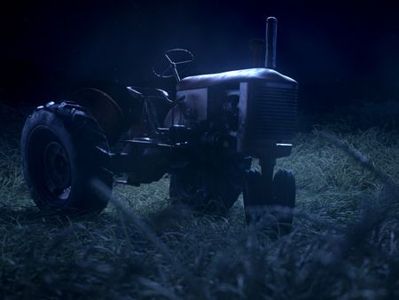 -  Grampa's tractor -
