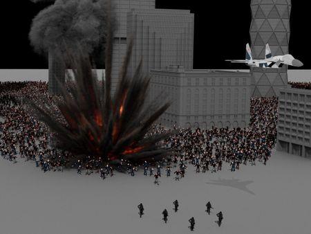 Zombie Airstrike
