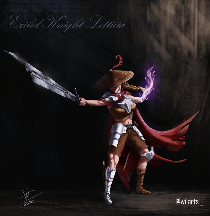 Exiled Knight Letticia