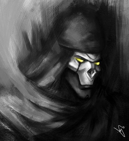 Revenant portrait