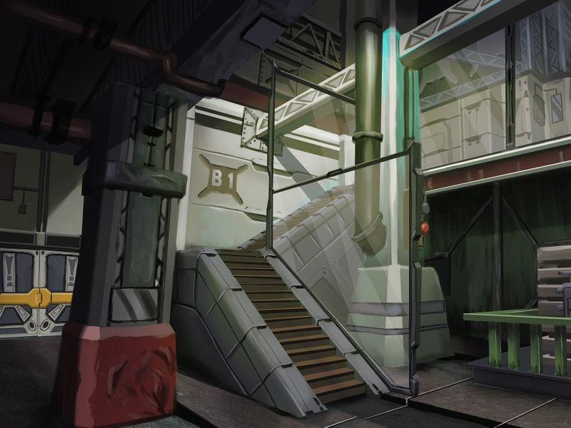 Underground facility concept art