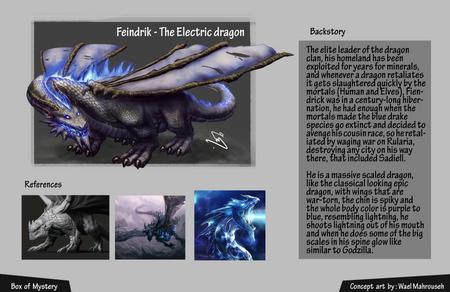 Feindrik - The Electric dragon