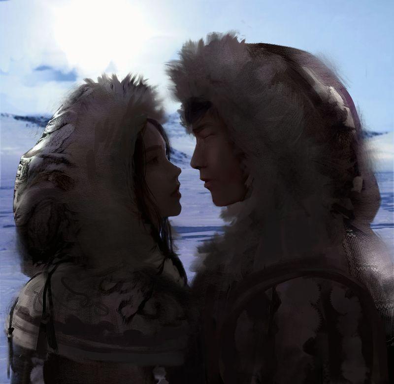 Eskimo's Kiss