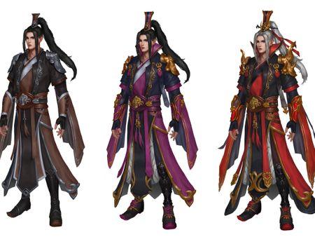 Chinese Sorcerer Design
