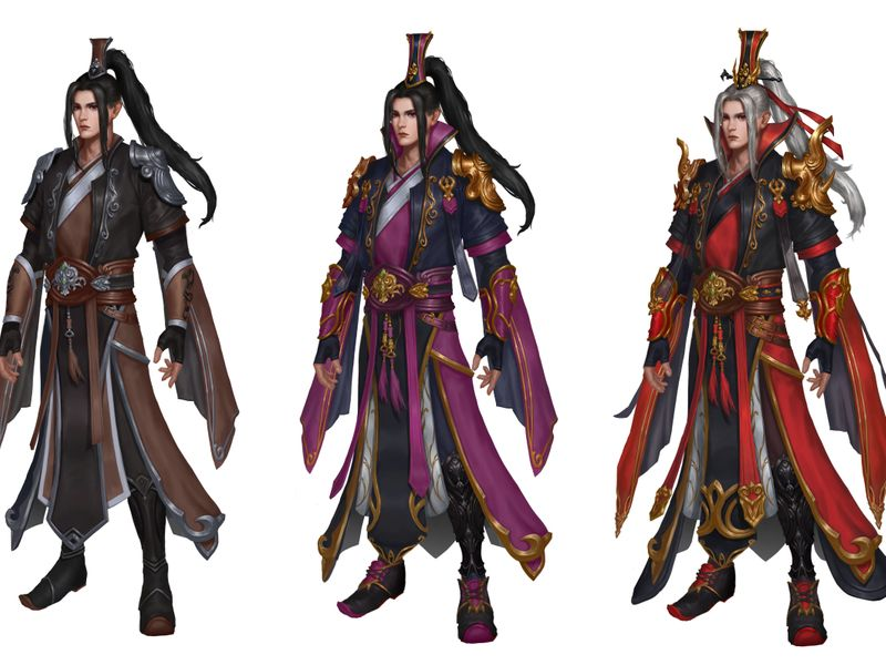 Chinese Sorcerer Design