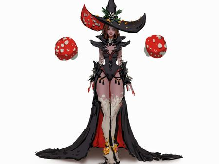 Mushroom Sorceress