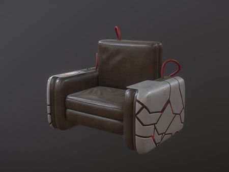Cyberpunk Self Pumping ArmchAIR