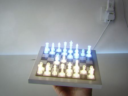 Neon Gambit Chess
