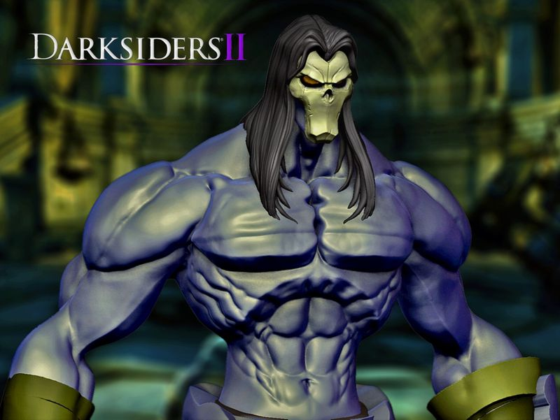 Death - Darksiders II (Work in Progress)
