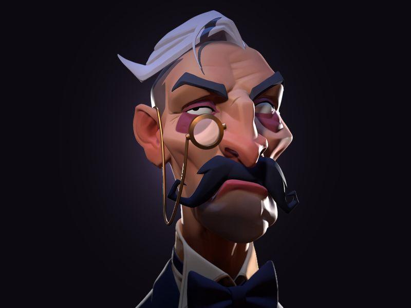 Distrustful Butler