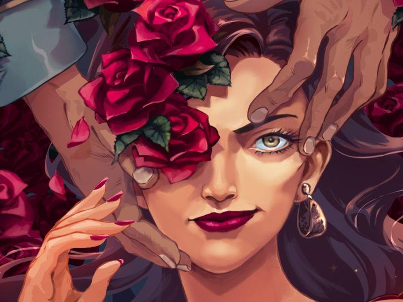 Illustration Poster-Carmen Opera