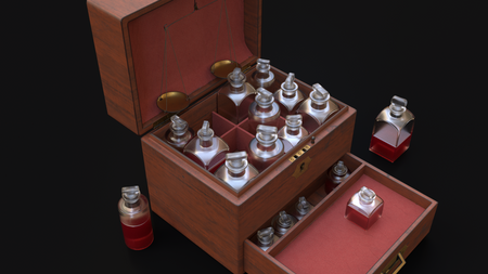 Victorian Apothecary Box