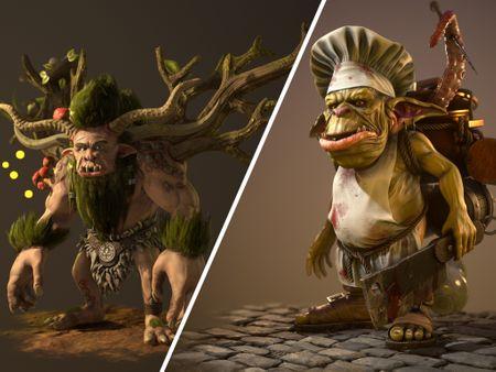 Fantasy Character Portfolio