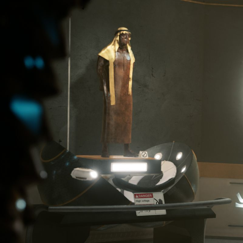 Dubai Sci-Fi Subway - Unreal Engine 4