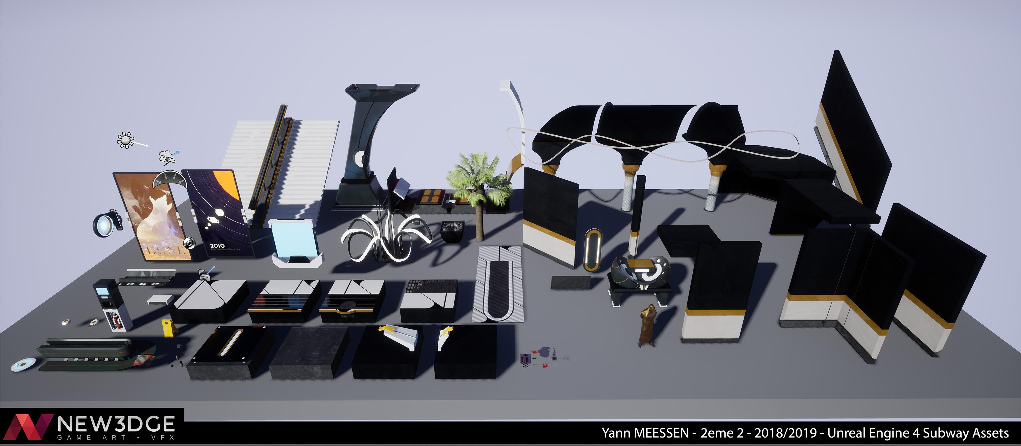 Dubai Sci-Fi Subway - Unreal Engine 4 | The Rookies