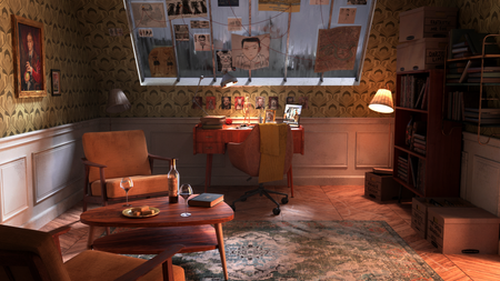 Wes ANDERSON room