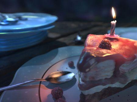 Forgotten Cake