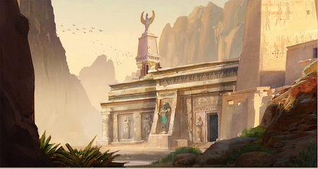 Valley of the King concept art
