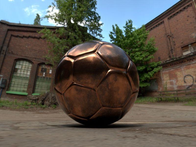 Ball in street