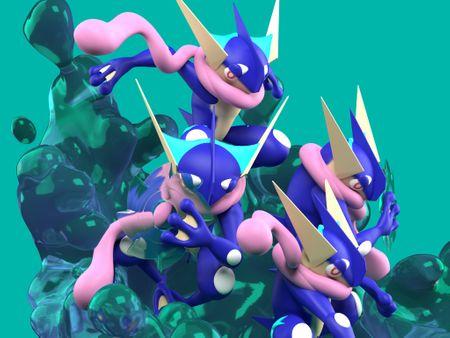 Shadow Clone Jutsu? Greninja