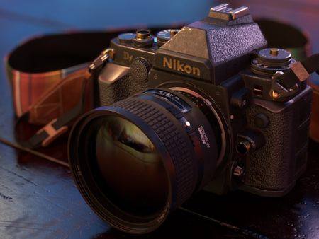 Nikon DF w/ NIKKOR 85mm 1.4D