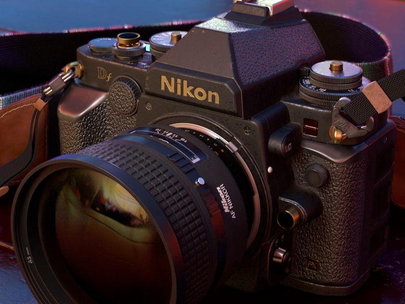 Nikon DF w/ 85 mm 1.4D NIKKOR Lens