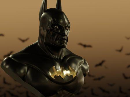 The Batman Memorial Statue