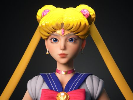 3D SailorMoon in UE5